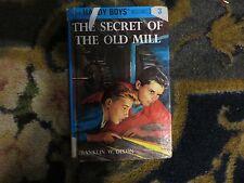 Hardy Boys The Secret of the Old Mill No 3 Franklin W Dixon Flashlight ed good
