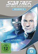 LEVAR BURTON,MICHAEL DORN WILLIAM BOYETT - STAR TREK TNG S6 MB  7 DVD NEU