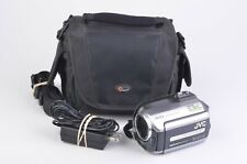 EXC++ JVC EVERIO GZ-MG130U 30GB HDD CAMCORDER w/34X OPTICAL ZOOM +LOWE CASE