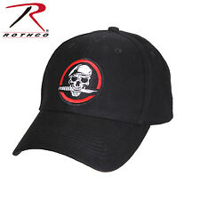 Army Ranger Style Black Deluxe Low Profile Cap Adjustable One Size Rothco 9813