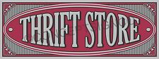 4'x10' THRIFT STORE BANNER Outdoor Indoor Sign XL Resale Shop Clothing Furniture