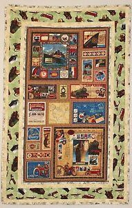 Antique Transportation Vehicles Handmade Quilt REDUCED
