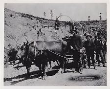 J.C.H. GRABILL ICONIC Prospectors Going to Fields GOLD RUSH Classic 1889 photo