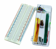 Solderless Breadboard Protoboard PCB (830 tie-points) with Jumper Wires Kit