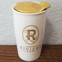 Disney WDW Riviera Resort Ceramic Coffee Tumbler Mug Walt Disney World with Lid