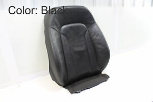 2007-2015 AUDI Q7 - Front Right Upper Leather SEAT BACK Cushion 4L0881806A