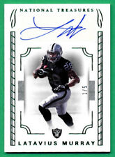 2016 National Treasures #7 LATAVIUS MURRAY AUTOGRAPH Raiders *RARE 1/5 - X718