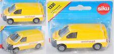Siku Super 1338 00424 VW T5 Transporter, weishaupt, ca. 1:58