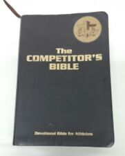 The Competitor's Bible (Brown Leatherette, 2012) Devotional Bible for Athletes