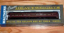 Walthers Pullman Heavyweight 3-2 Lounge-obs PRR 932-10254 Train Car Plan 3959d