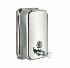 American Specialties ASI #0343 Stainless Steel Vertical Soap Dispenser 40 oz new
