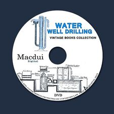 Water Well Drilling – Old books 21 PDF on 1 DVD Irrigation Purrification