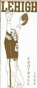1980 LEHIGH MOUNTAIN HAWK FOOTBALL (I-AA/FCS Semi Finals) media guide, Excellent