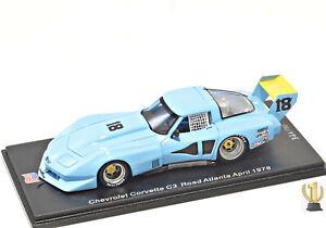 1:43 Spark US048 Chevrolet Corvette C3, Road Atlanta 1978, John Paul #18
