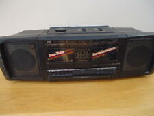 jvc pc w 100  boombox ghettoblaster,  working, new belts, nice condition