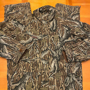 Columbia Sportswear Camouflage Hunting Coveralls Size Large Green F4 HM 0020
