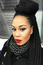 Micro Braids Lace Front Wigs Synthetic Crochet Twist Braiding Full Wigs US Stock