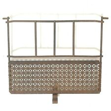 Vintage ViTaRay Gas Space Heater Front Screen Guard Quad Stove Mfg