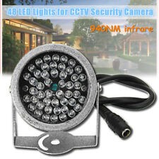 940nm 48 LED illuminator light IR Infrared Invisible Lamp For Cctv Security Came