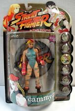 RESAURUS STREET FIGHTER CAMMY ACTION FIGURE PLAYER 2 BLUE COSTUME CAPCOM