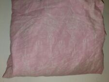 Pink and white Disney Princess twin fitted bed sheet cotton/poly blend