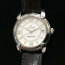 Concord Impresario Ladies' Stainless Steel Watch on Crocodile Strap XLNT Cond!