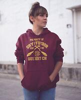 Harry Potter Gryffindor Quidditch Team College Hoodie Jumper Adults Unisex Top