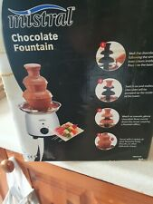 MISTRAL CHOCOLATE FOUNTAIN BRAND NEW AND BOX STILL SEALED