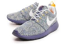 RARE Nike Roshe Run LIBERTY OF LONDON Blue Recall/White QS UK 2.5 & UK 3