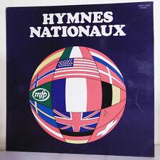 33T MUSIQUE EQUIPAGE FLOTTE Vinyle LP 12 HYMNES NATIONAUX Marseillaise MFP 15828
