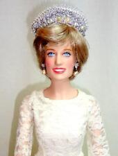 Franklin Mint Princess Diana Vinyl Doll in Custom Gown 1985 U.S. British Embassy