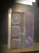 vintage printers block safeway display ad