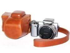 PU cuoio per fotocamera Custodia Protettiva Borsa Cover per Sony NEX-5R NEX-5T NEX-5TL ecc.