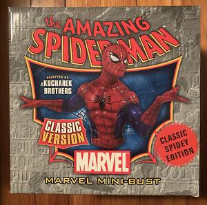 SPIDER-MAN Classic Spidey Edition Version Mini-Bust Bowen Designs NEW Marvel