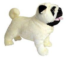 12 Standing Misfit The Farting Pug Dog Plush Stuffed Animal Toy NEW FREE SHIPP