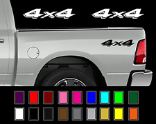 Dodge 4x4 Ram Dakota Truck Bed Decal Set Vinyl Stickers