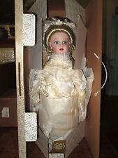 Franklin Heirloom BeBe Bru Victorian Bride Doll *NIB *COA