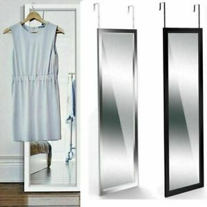 Large Long Full Length Mirror Over Door Bathroom Bedroom Hanging Dressing 110CM