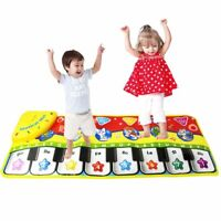 Baby Kids Musical Piano Music Toddler Carpet Play Mat Educational