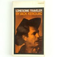 Lonesome Traveler Jack Kerouac Classic Vintage Paperback 1970 Edition