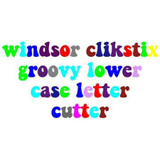 Windsor Cake Craft Groovy Lowercase Letters Clikstix Cutter