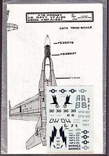 [57075] Vintage Repli Scale Decals F-18 Hornet U.S. Navy Vf A-82 Usmc Vmf A-251