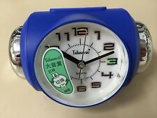 [Telesonic]CRAZY Super LOUD Bell Alarm snooze Clock BLUE+Free Ship~MADE'n TAIWAN