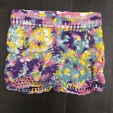 flowers by zoe crochet shorts Girls Size 5