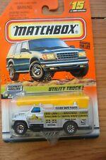 Matchbox Series 3 Utility Truck Ideal Power #36424~New