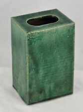Chinese Ming Dynasty enameled square vase, Collection of W.E. Cox (BI#MK/171018)