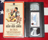 Born Yesterday (VHS, 1950) Judy Holliday, William Holden, Broderick Crawford