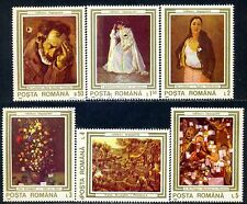 1990 Brueghel,Madonna,Paggi,Paintings Damaged in Revolution,Romania,Mi.4622,MNH