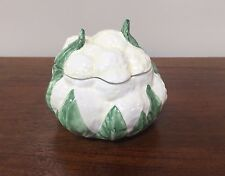 Vietri Italy Ceramic CAULIFLOWER BOX COVERED DISH  #2