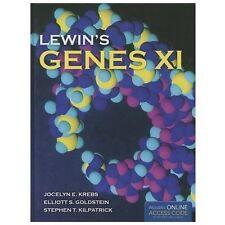 Lewin's GENES XI by Krebs, Goldstein, Kilpatrick. NEW w/ ONLINE CODE ~ Hardcover